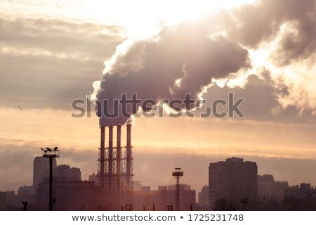 cold industrial landscape Stock photo © tracer
