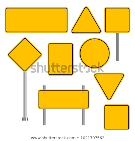 street sign attention Stock photo © meinzahn