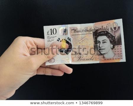 Stok fotoğraf: Pound · para · 10 · para · kâğıt