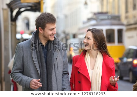 Boy and girl from Portugal  Stock photo © bluering