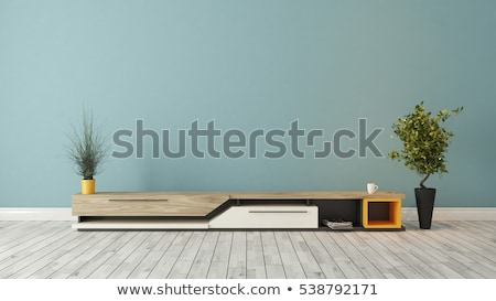 modern · tv · durmak · duvar · dizayn · oda - stok fotoğraf © sedatseven