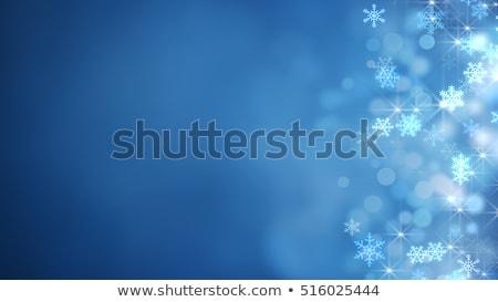 gece · Yıldız · tatil · mavi · pop · art · Retro - stok fotoğraf © studiostoks
