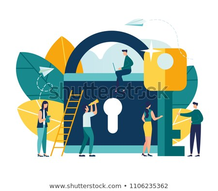 Secrets Concept on File Label. Stock photo © tashatuvango
