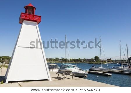 Collingwood Lighthouse by Lake Huron Stock photo © benkrut