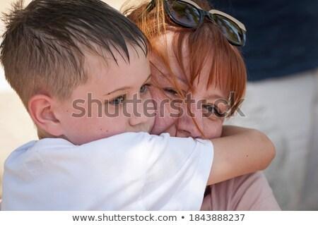 Młodych piękna matka umiłowany mały Zdjęcia stock © majdansky