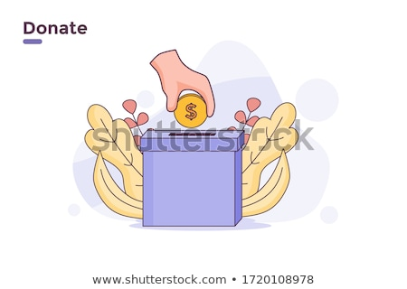 Dolar · pomoc · polu · finansowych · wsparcia · finansów - zdjęcia stock © devon