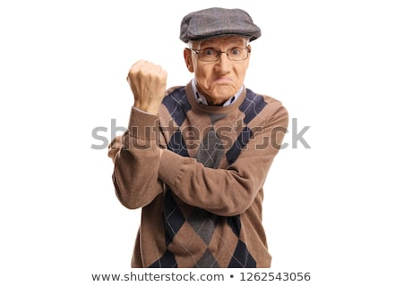 Rude gesture Stock photo © pressmaster