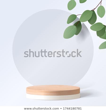 продукт презентация молодым человеком изолированный белый Сток-фото © hsfelix