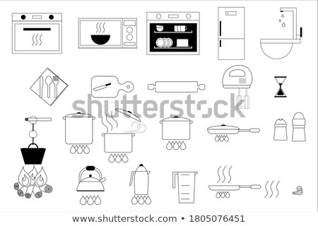 Set of Isolated Fire-Related Items Illustration Stock photo © robuart