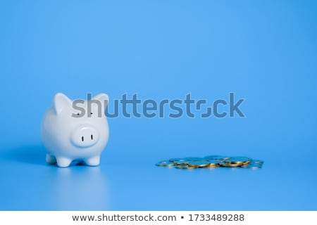 Munt bank spaargeld witte cash dollar Stockfoto © devon