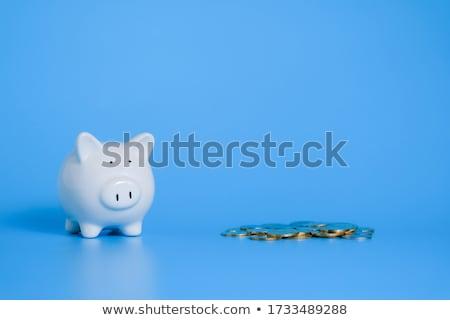 dollar · pièce · belle · or · isolé · noir - photo stock © devon
