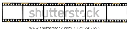 35mm film negatív csoport tekercsek fehér Stock fotó © stokato