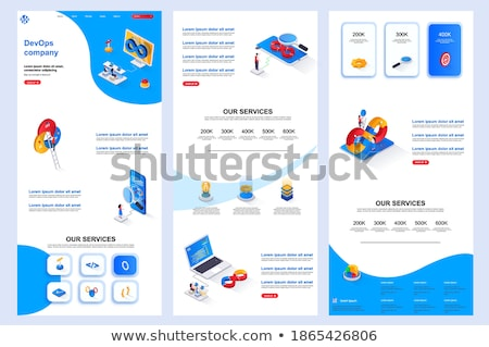 System administration header or footer banner Stock photo © RAStudio