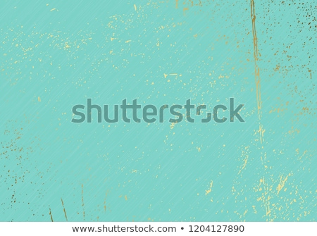 subtle turquoise vector texture overlay abstract gold splattered glamour background dotted grain stock photo © iaroslava