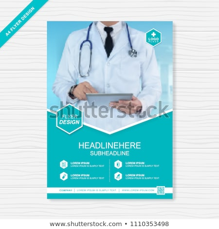 medical flyer concepts stock photo © anna_leni