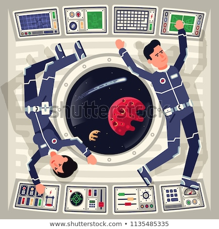 cabin of the spacecraft stock photo © studiostoks