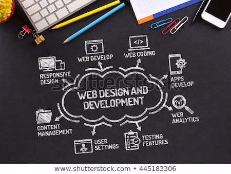 Website Development, Algorithmization Programming Stock photo © robuart