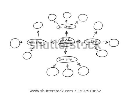 firka · folyamatábra · ikon · infografika · szimbólum · kör - stock fotó © rastudio
