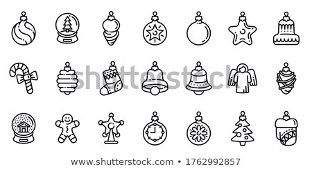 праздник · смайлик · набор · иконки · Рождества - Сток-фото © netkov1