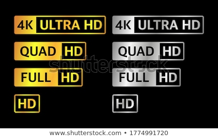 Ultra HD (high definition) resolution technology 4K UHD concept  Stock photo © djmilic