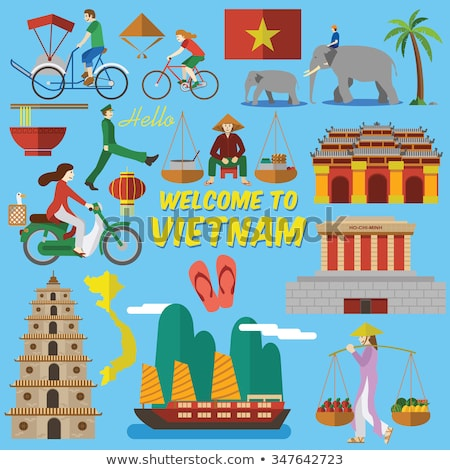 Вьетнам путешествия дворец продовольствие Сток-фото © netkov1