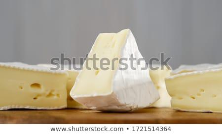Kaas camembert textuur detail voedsel Stockfoto © boggy