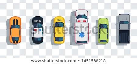 polícia · carros · dois · diferente · tradicional · pintar - foto stock © yurischmidt