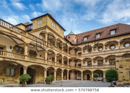 Courtyard of the Old Castle, Stuttgart, Germany Stock photo © borisb17