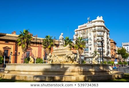 çeşme İspanya alegori şehir Bina Stok fotoğraf © borisb17