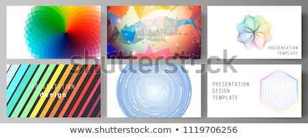 цветами печати журнала положительный старший Сток-фото © pressmaster