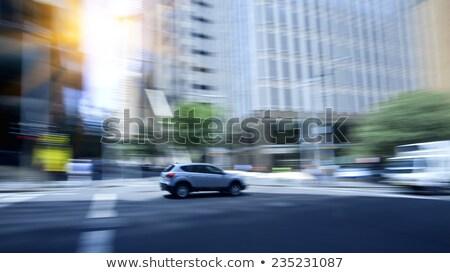 Taxi auto straat Sydney Australië detail Stockfoto © boggy