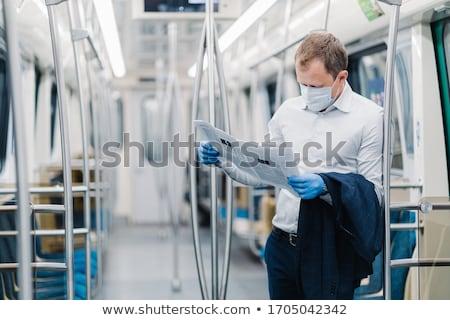 горизонтальный выстрел взрослый человека формальный одежды Сток-фото © vkstudio
