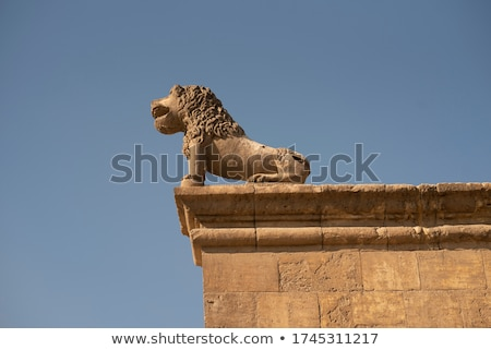Citadel lion statue Stock photo © photoblueice