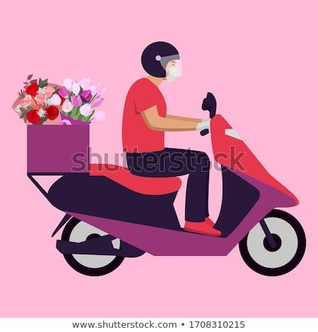aislado · flor · floral · Pascua · flores - foto stock © nruboc