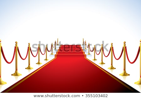 Red Carpet Stairs - Stairway to fame Stock photo © dacasdo