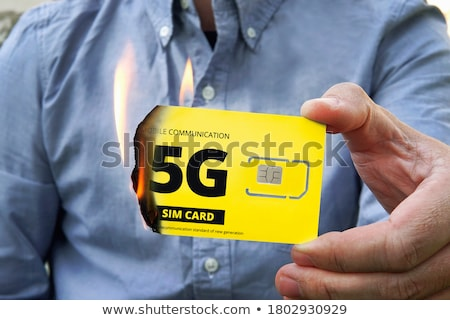 Gsm display knoppen abstract technologie Stockfoto © deyangeorgiev