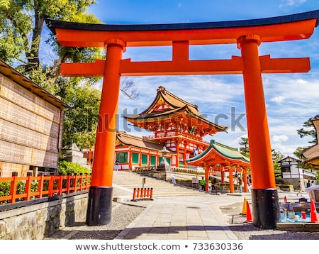 fushimi inari torii Stock photo © smithore