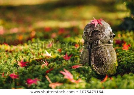 Kő ázsiai szobor Ázsia vallásos szobor Stock fotó © zastavkin