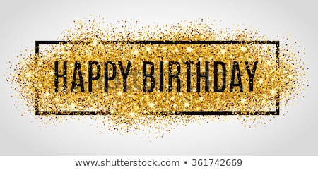 abstract happy birthday template vector illustration © rahul ...