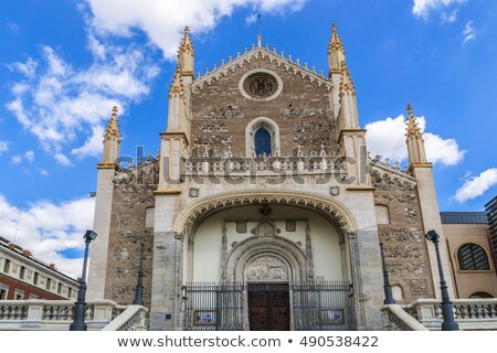St. Jerome Royal Church in Madrid Stock photo © rognar