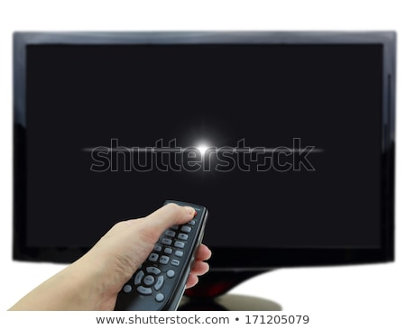 LCD aislado blanco tecnología computadoras Foto stock © tuulijumala