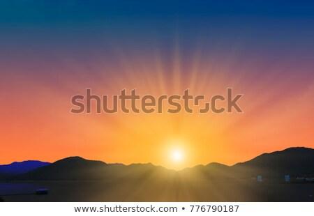 terra · blue · sky · temporada · primavera · ambiental · interesse - foto stock © broker