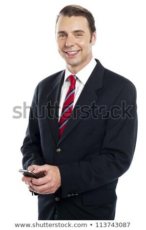 Chef d'équipe collègues souriant jeunes Photo stock © stockyimages
