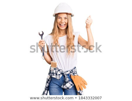 Proud handywoman Stock photo © photography33