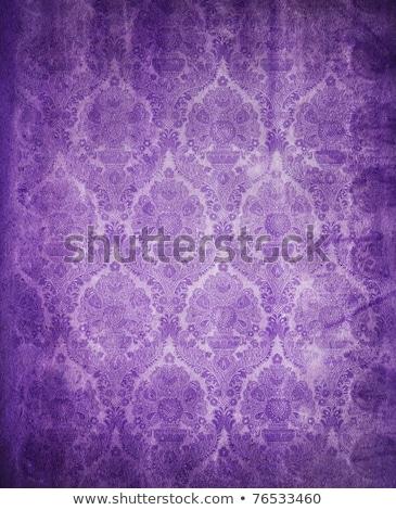 Purple fabric - seamless tileable texture Stock photo © mobi68