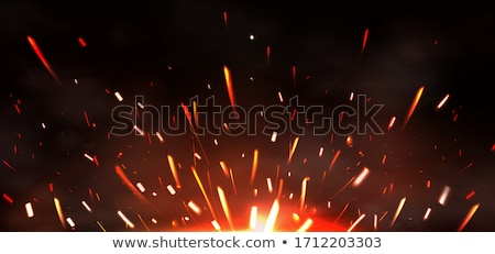 Stock photo: Welded Orange Metal