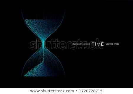 Kum saati iş açmak valf para vakit nakittir Stok fotoğraf © idesign