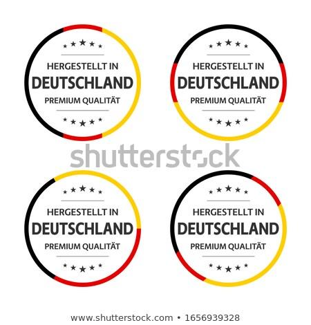 Badges ingesteld beroemd toeristische alle Stockfoto © sahua