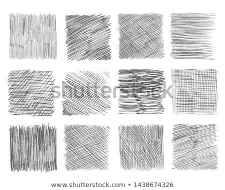 Rajz szín tollak izolált fehér hát Stock fotó © pazham