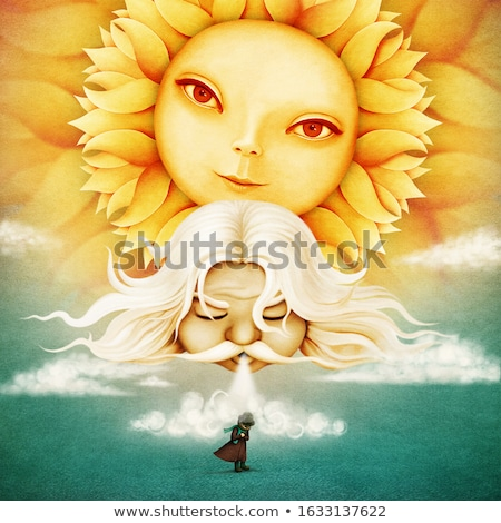 zonnepanelen · blauwe · hemel · zomer · landschap · gras - stockfoto © neiromobile